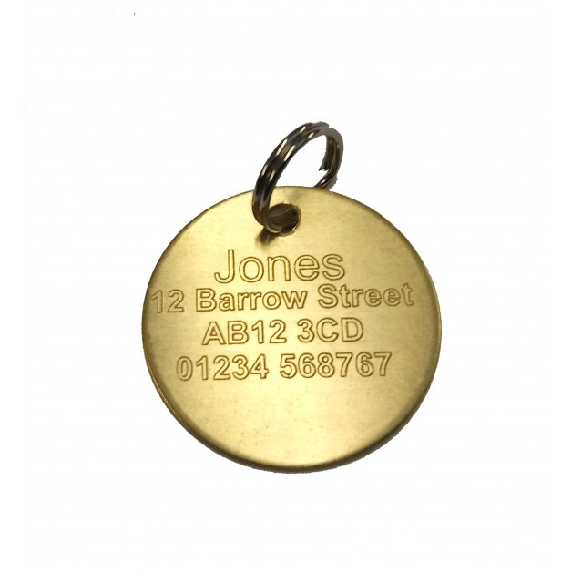 Dog Tag Engraved