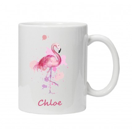 Flamingo Name Mug